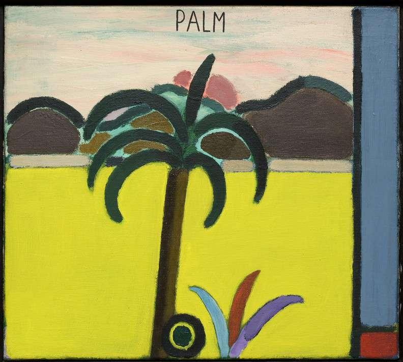 Romantisch Landschap met Palmboom, 1965