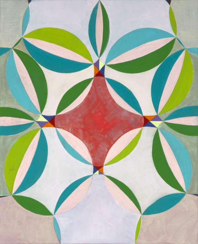 Shifting Circles Nr XV, 2016
