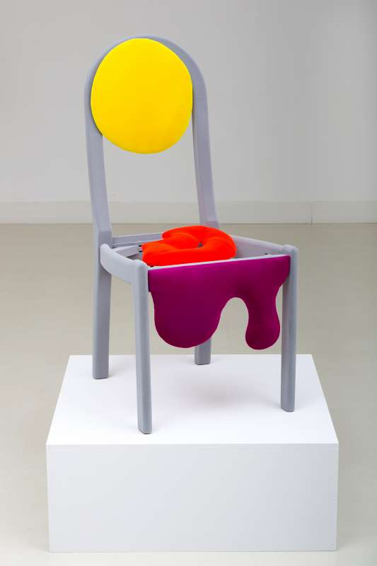 Morgan Betz, Sun Chair, 2015,