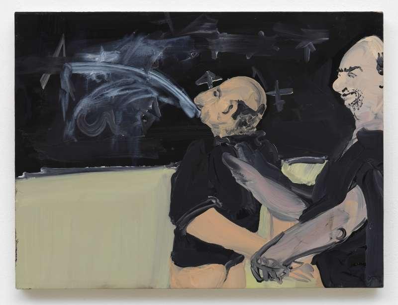 Tala Madani, Chalk Split, 2008