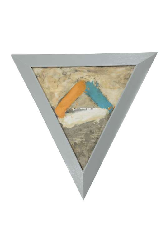 Ger van Elk, Orange White Blue, 1985