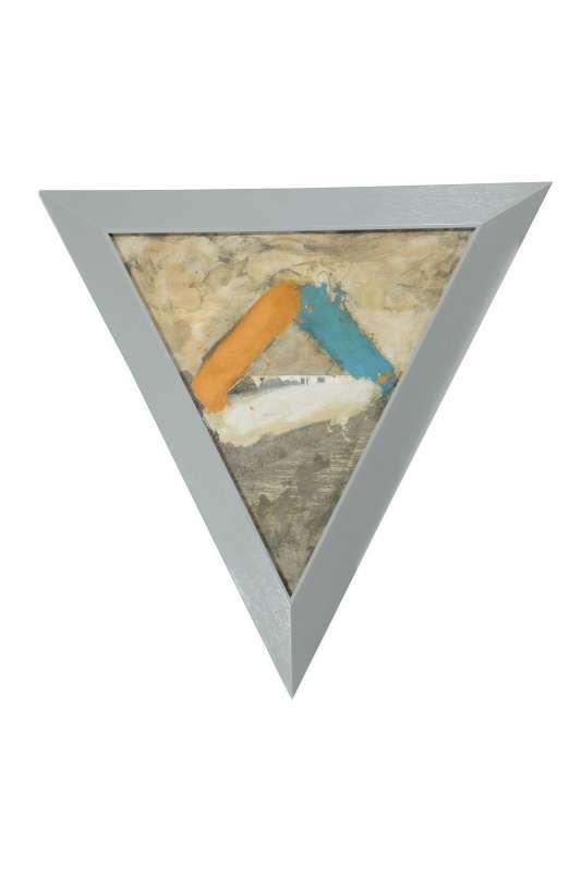 Ger van Elk, Orange White Blue, 1985