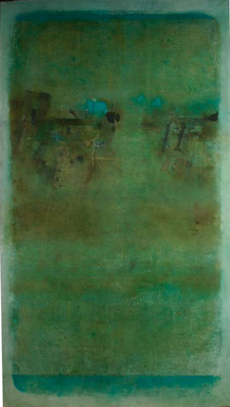 Vasudeo S. Gaitonde, untitled, 1968
