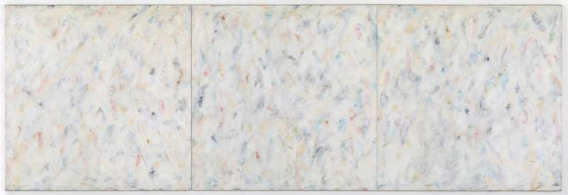 White Painting with Color, 1975